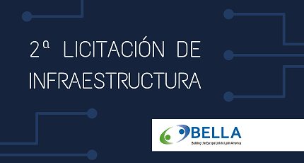 RedCLARA opens the second Infrastructure Tender for the BELLA-T Project